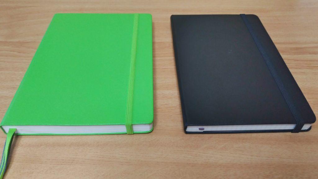 ロイヒトトゥルムとモレスキンのノート