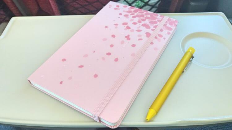 桜モレスキンと、サクラクレパス『大人のクーピー』