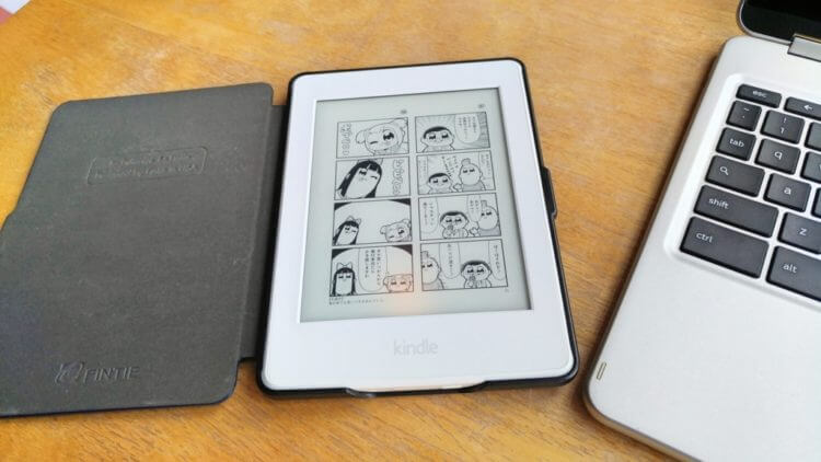 Kindle Paperwhiteとカバー