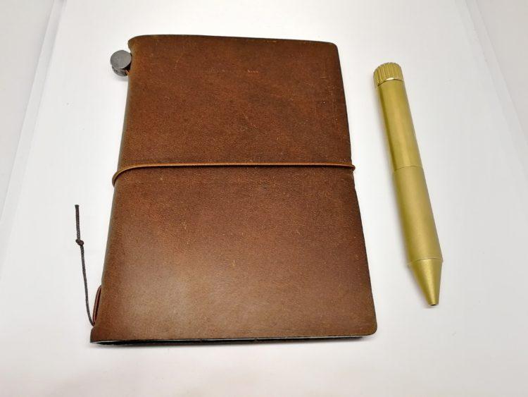 クリップなしのボールペンを携帯したい