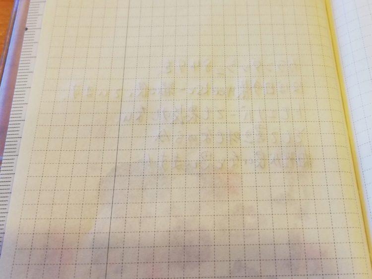 カランダッシュ849とほぼ日手帳weeks_07