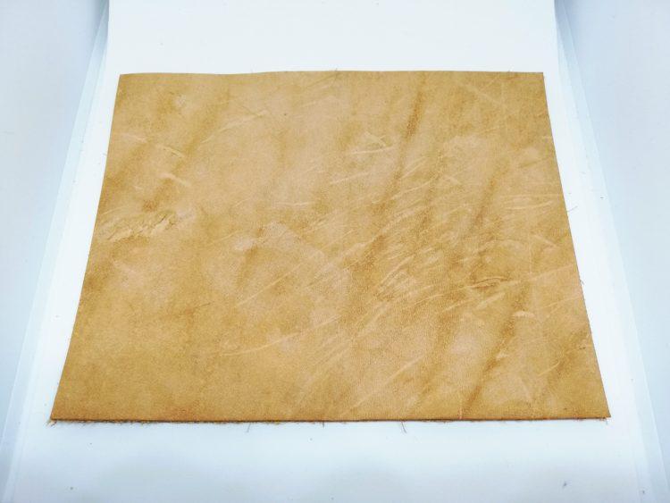 ダイアログノートのカバーを革で自作09