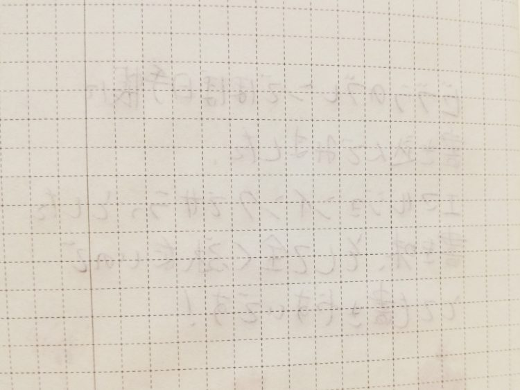 ブレンでほぼ日手帳に書き込んでみた02