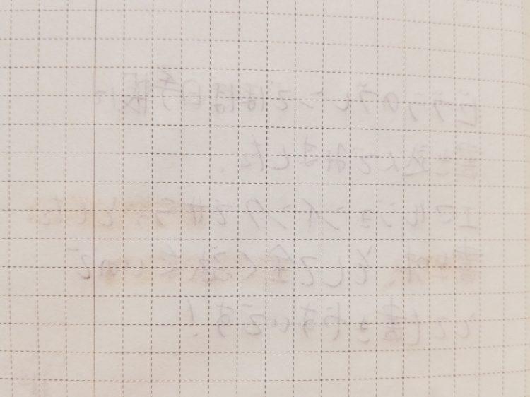 ブレンでほぼ日手帳に書き込んでみた04