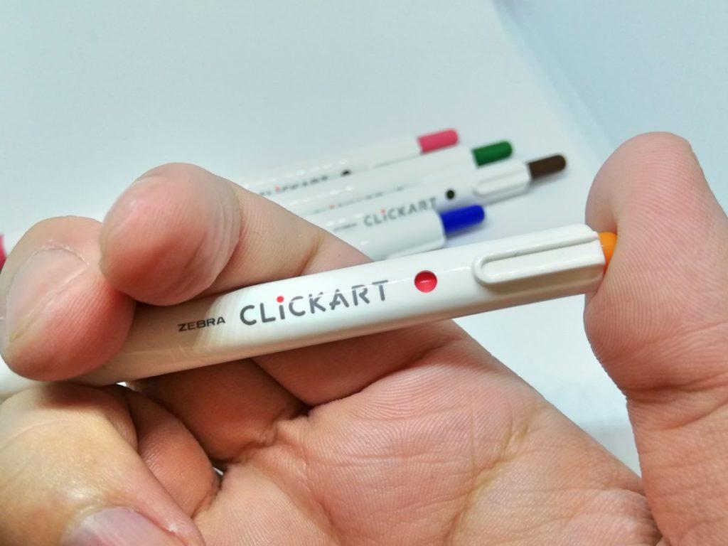 ノック式のネームペン_クリッカート02