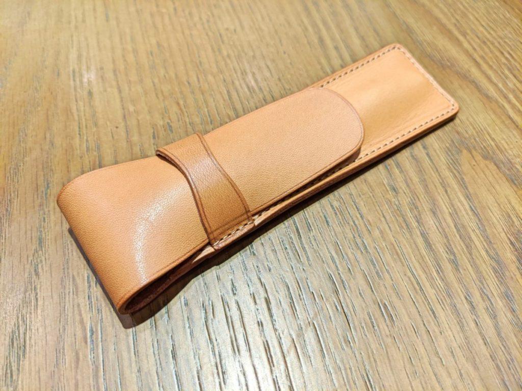 和気文具の革製ペンシース01