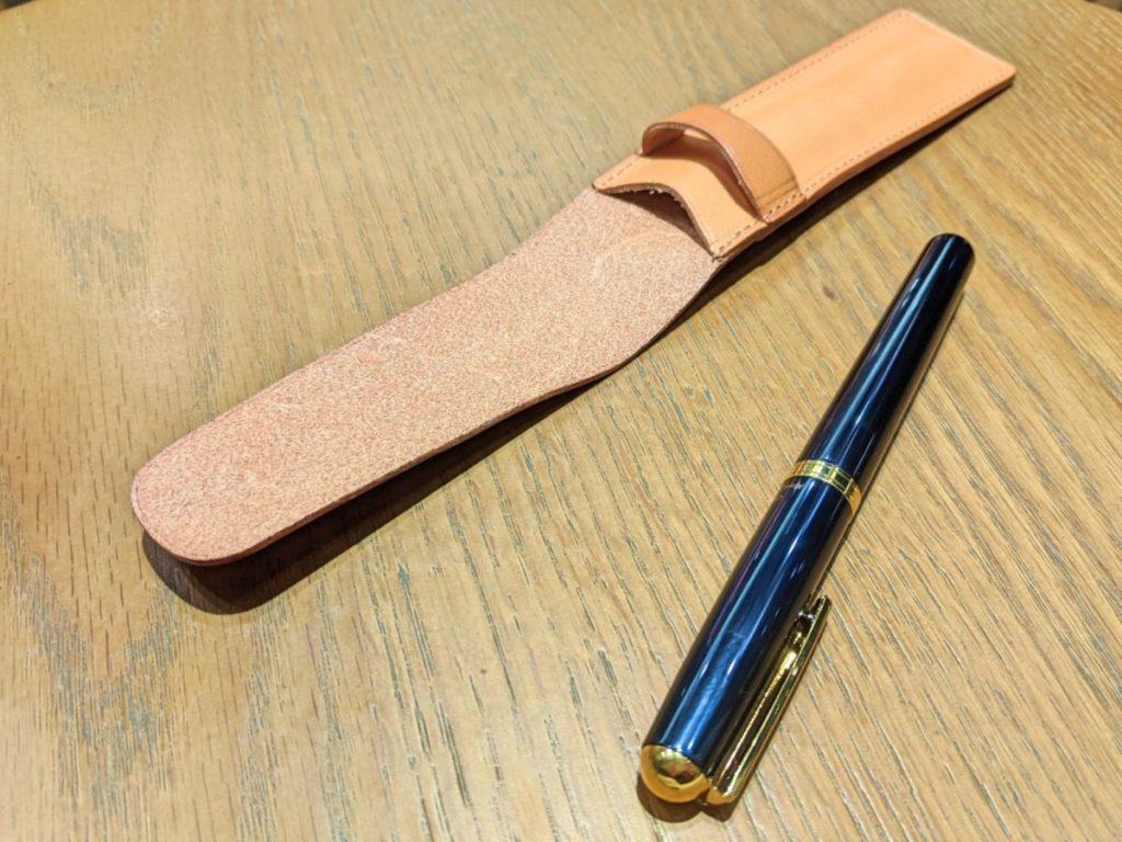 和気文具の革製ペンシース07