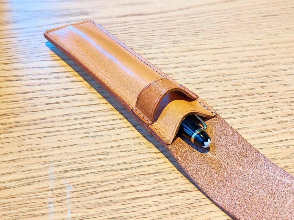 和気文具の革製ペンシース06